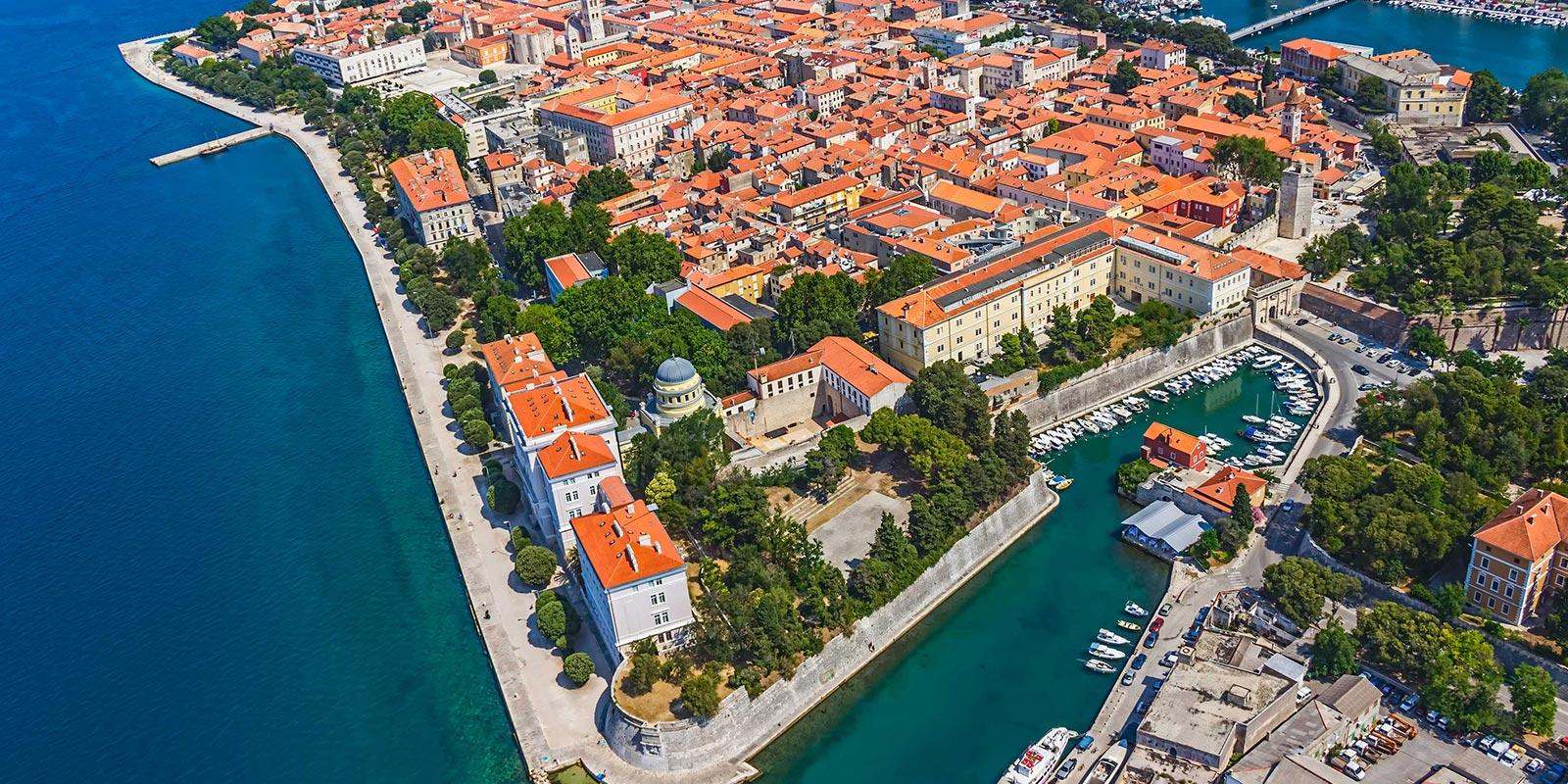 zadar-port-hırvatistan